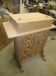 Completed Lectern (Before Staining)