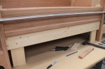 Floor Rail dry fit (with clamp)