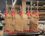 Shelves in Clamps