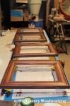 Stained Frames Before Glaze