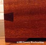 Box made from Spanish Mahogany & Purple Heart