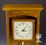 garnet maple mantle clock 1-6