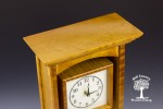 garnet maple mantle clock 3-5