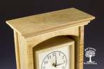 maple mantle clock 4-5